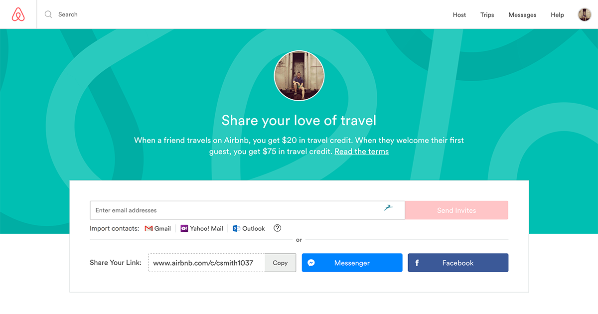 How Airbnb Built One Of The Most Successful Referral Programs Ever