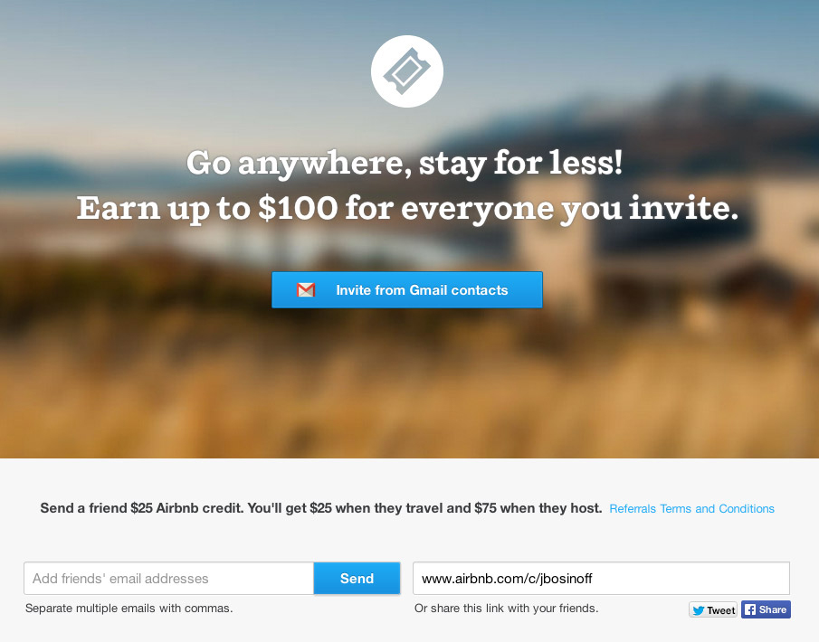 How Airbnb Built One Of The Most Successful Referral